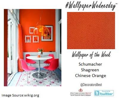 Summer, fresh, décor, inspiration, Decorators  Best, orange, Schumacher, bright, bold