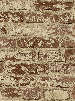 York Wallpaper Stuccoed Brick PA5466