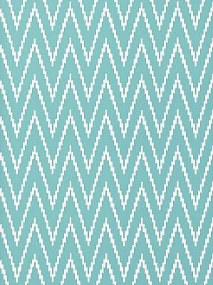 Schumacher Wallpaper - Kasari Ikat - Azure 5005995