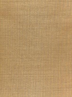 Schumacher Wallpaper Harshaw Pinstripe Sisal Pecan 5006163