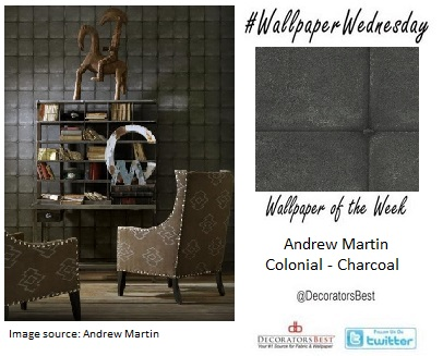 DecoratorsBest, Interio, Decor, Wallpaper Wendesday, Mancave, fathers day, man decor