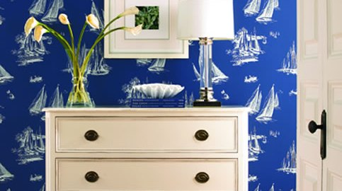 Wallpaperwednesday Decorating With Savings Decoratorsbest