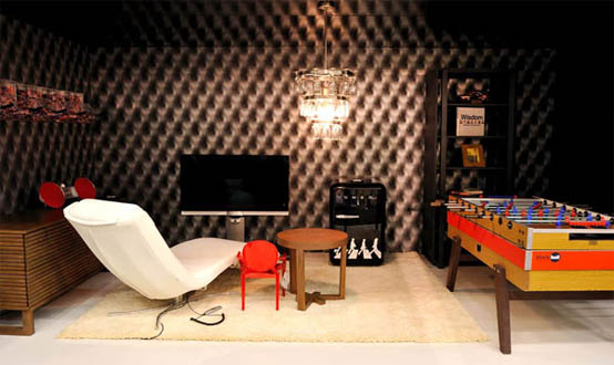 Father And Son Man Cave Interior Decor Cool Wallpaper