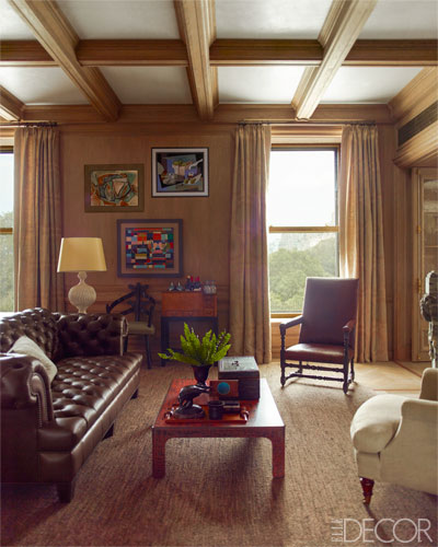 Steven Gambrel New York Plaza Hotel Manly Masculine Interior Decor
