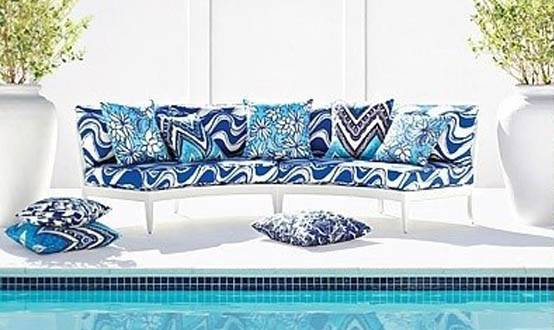 Schumacher Trina Turk Collection Indoor Outdoor Fabric Summer Interior Decor 2