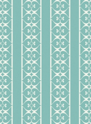 Tres Tintas Wallpaper Bodoni Collection VH2-A4 Turquoise