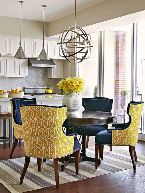 robert allen gate citrine fabric yellow and navy chairs fabric friday