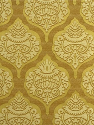 Lee Jofa Fabric - Ashton Damask - Gilt 2008161-4