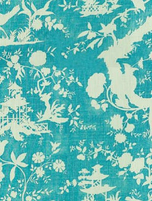 Lee Jofa Fabric - Nirvana Shadow - Aqua 2010129-35