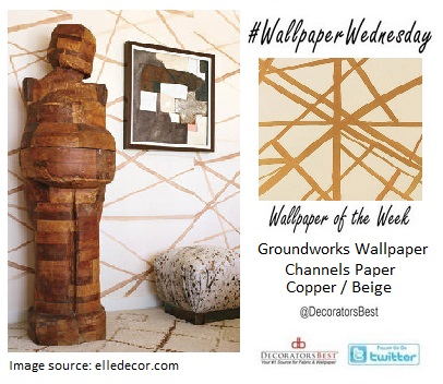 Groundworks wallpaper designer collections decoratorsbest wallpaper wednesdaychannels paper