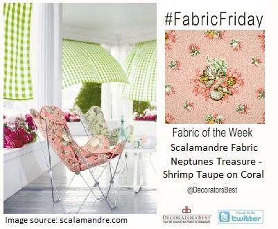scalamandre fabric friday inspiration decor interior design fabricfriday decoratorsbest summer living decor