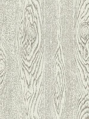 Cole & Son Wallpaper - Wood Grain - Black & White 92/5028