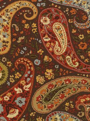 Stout Fabric - Binney 1 - Chocolate BINN-1