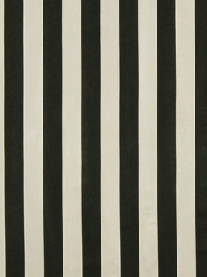 Robert Allen Fabric - Cassons - Black And White