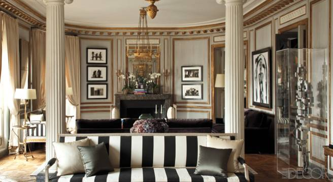 Paris Apartment - Chic Interior Decor