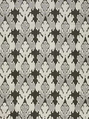 Groundworks Fabric - Bengal Bazaar - Graphite