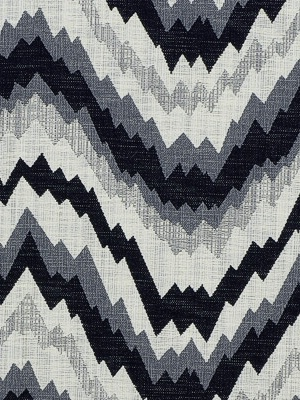 Groundworks Fabric - Flair - Noir