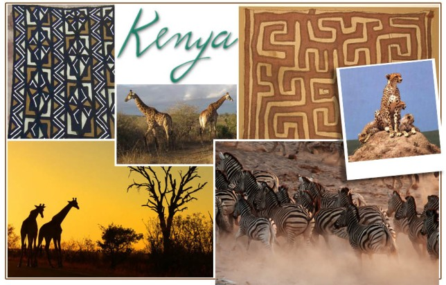 Decorating Inspiration from Kenya