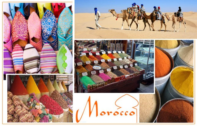 Moroccan Inspired Decor Mood Board