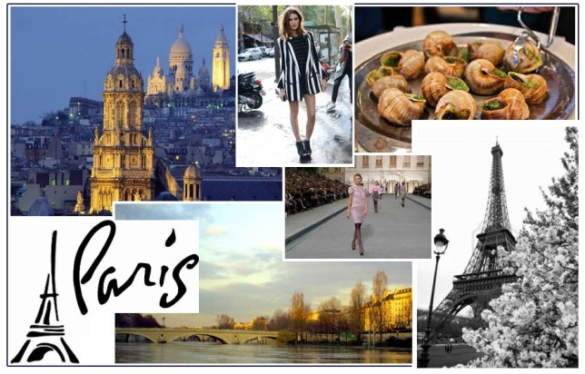 Parisian Inspired Decor Mood Board