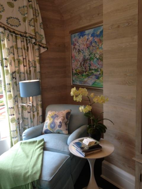 barbara ostrom room at Hamptons Designer Showhouse 2013