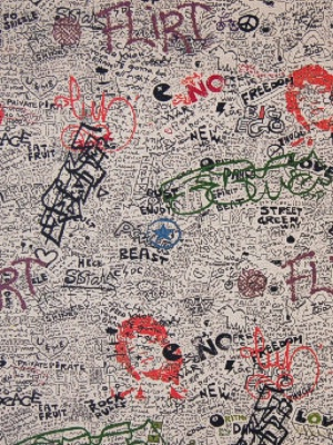 Greenhouse Fabric - 203257S - Graffiti
