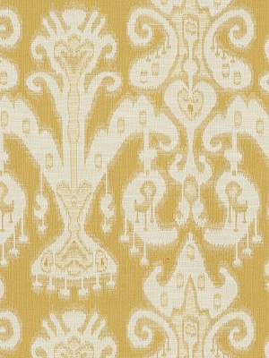 Kravet Yellow Ikat Fabric - 31446 - 114