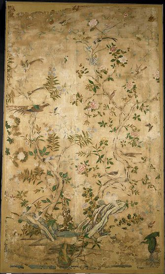 Wallpaper from Guangzhou, China 1725-50