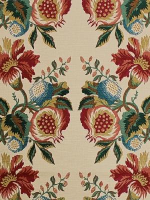 Scalamandre Fabric - Pomegranate - Jewel 6486A-004
