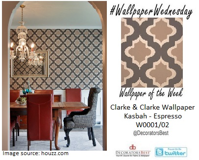 clarke and clarke wallpaper geometric trellis wallpaper wednesday interior decor home inspiration trends