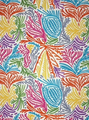 Clarence House Fabric - Andros - Multi