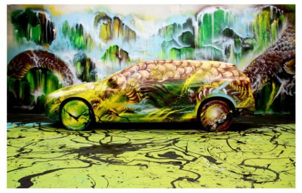 Finished Product Graffiti by Hua Tunan