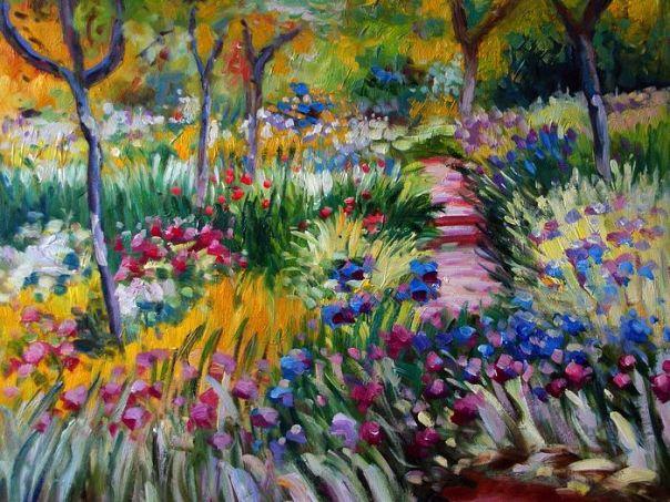 Claude Monet Impressionist Painting
