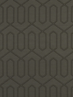 Robert Allen Fabric - Dotted Trellis - Dove