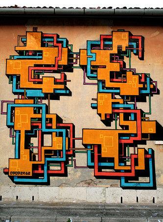 Graffiti, Unknown Artist