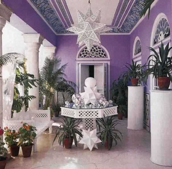 Indian Trellis Detail Interior Decor