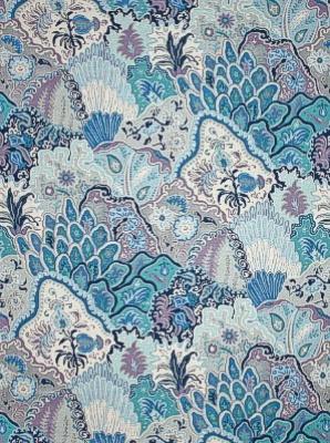 Clarence House Fabric - Jaipur - Blues 34455-3