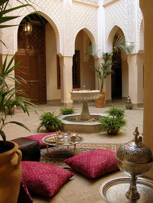 morocco marrakech riad hotel