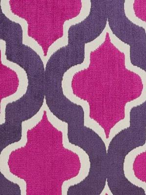 Clarke & Clarke Fabric - Palio - Berry F0281/02