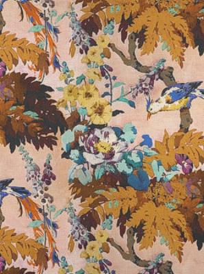 Clarence House Fabric - Paradisea - Albicocca 6413295J-1
