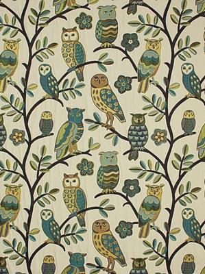 Pindler & Pindler Fabric - Night Owl - Spring Pdl 3971-Spring