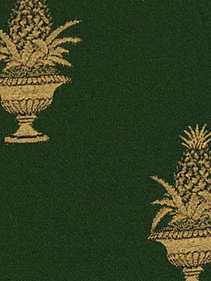 Robert Allen Fabric - Pineapple Grove - Forest