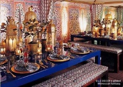 Turkish Interior Decor Trellis Design