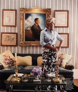 Carolina Herrera at Home - Interior Decor