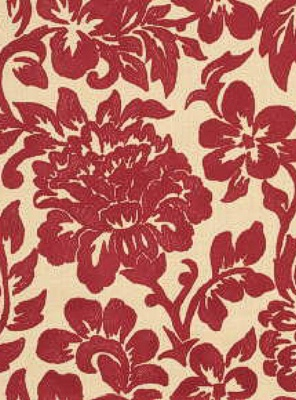 Lee Jofa - Flora - Red/Natural 2010110-916