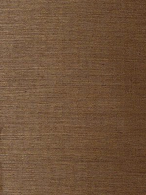 Schumacher Wallpaper - Linyi Ground - Chestnut 5003594