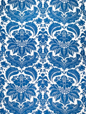 Stroheim Fabric -1087A SELENIO DAMASK - S0515 Periwinkle 6022602