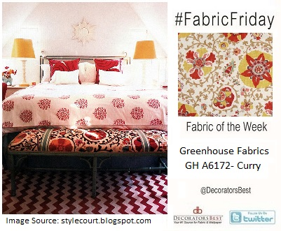 fabric friday trends of the week interior decor greenhouse fabrics indian themed bedroom inspired decor