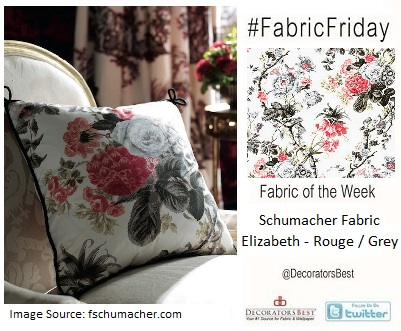 schumacher fabrics interior decor trends fabrics of the week market week designer alessandra branca collection floral statement prints