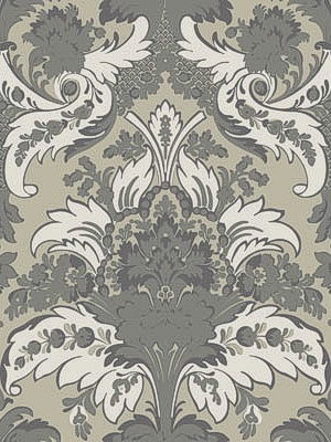 Cole & Son Wallpaper - Aldwych - Silver and White 94/5026